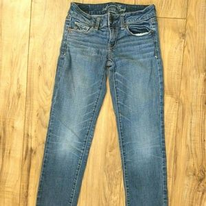 American Eagle Skinny Stretch Jeans Womens Size 0